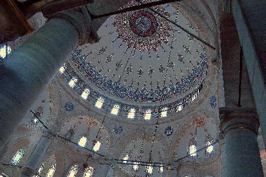 มัสยิดสุลต่าน เอยุพ (สุเหร่า สุลต่าน เอยุพ): the Eyüp dome