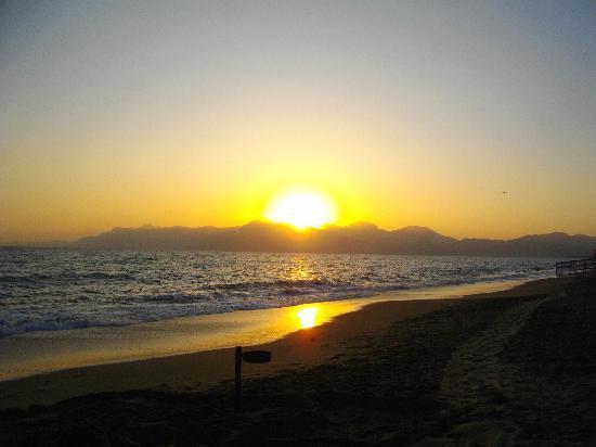 Hotel Olimpico: beach