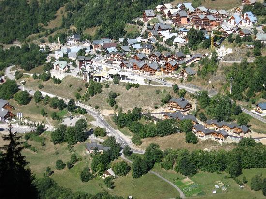 Vaujany, France: le village