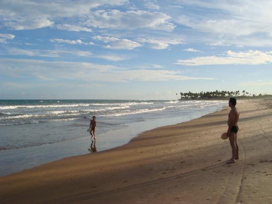 Vila Galé Marés: praia do hotel