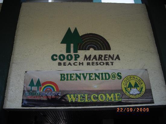Coop Marena Beach Resort: entrada