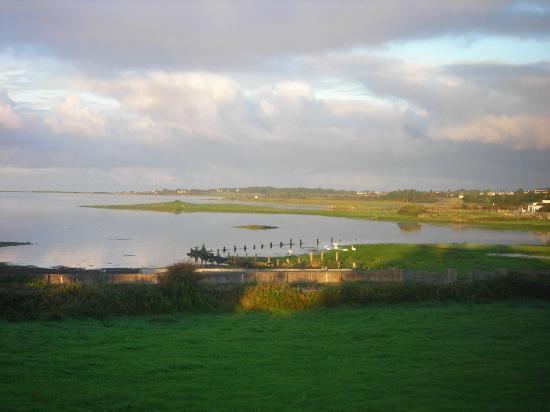 Oranmore, Irlanda: Une superbe vue au petit déjeuner