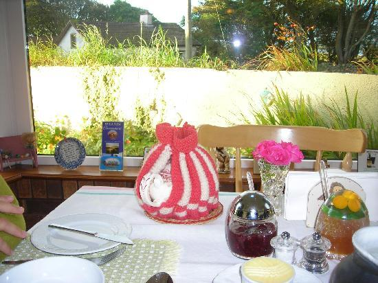 Oranmore, Irlanda: Une table préparée avec beaucoup de soin