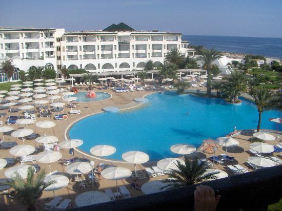 El Mouradi Palm Marina: Vu de notre chambre