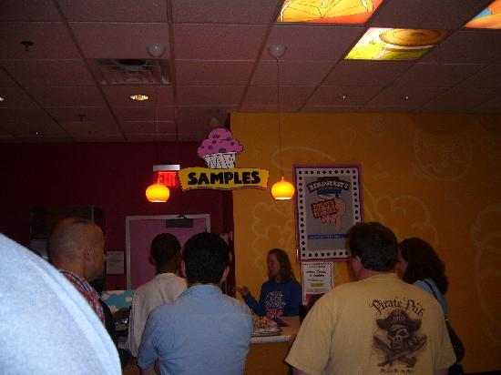 Ben & Jerry's: Sample room