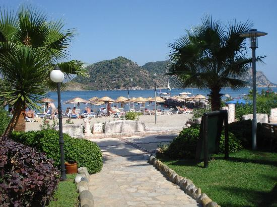 Hotel Aqua: The beach a short stroll away