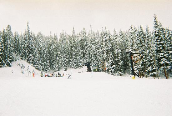 "Center Village at Copper Mountain: ""PITCHFORK"" run"