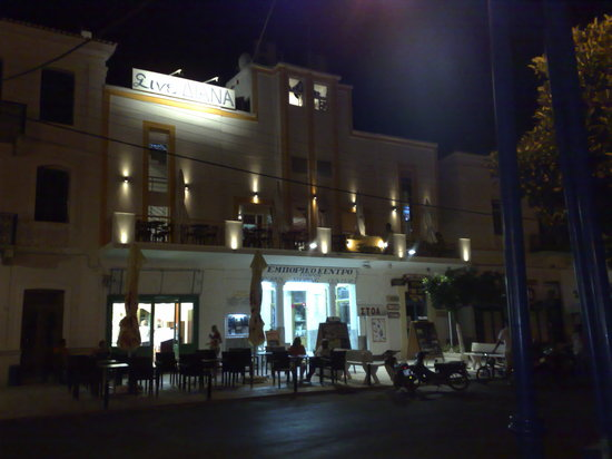 Dimitra Boutique Hotel : The best coffee on Poros ~ please support the owner