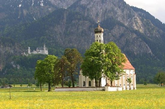 Múnich, Alemania: Nueschwanstein Castle and Church