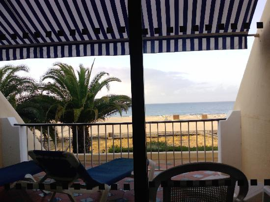 Hotel Algarve Casino: view from bed!