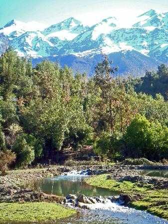 San Esteban, Chile: Fly fishing ponds