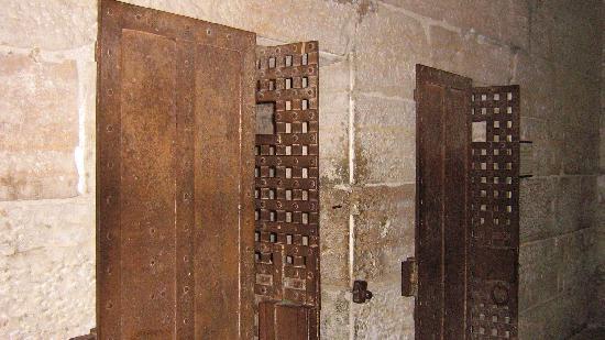 Jail, Marshal's Home & Museum: Original Metal Doors