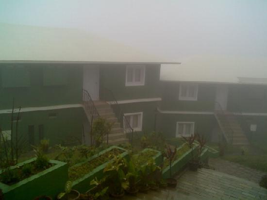 Chinnakanal, India: hotel with full mist it really amazing