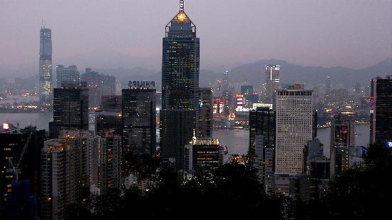 ฮ่องกง, จีน: Hong Kong  de nuit
