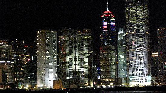 ฮ่องกง, จีน: au bord de l'eau, Hong Kong la nuit
