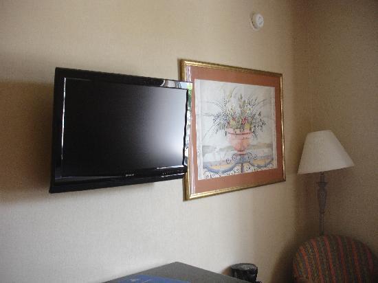 BEST WESTERN Jamaica Inn: Nice flatscreen tv