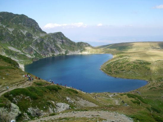 Bulgarije: Lake Babreka (The kidney) in Rila mountain