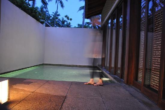 Amanwella: bungalow private pool