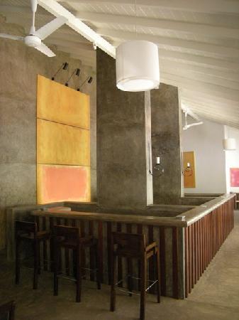 เล้ค ลอดจ์: The bar on the 2nd floor, not yet operating