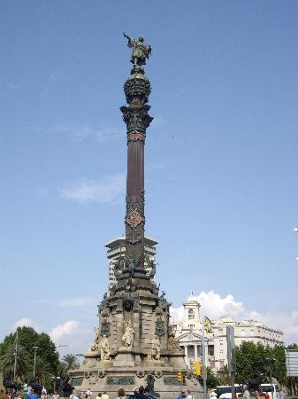 Monument Christophe Colomb Picture Of Barcelona