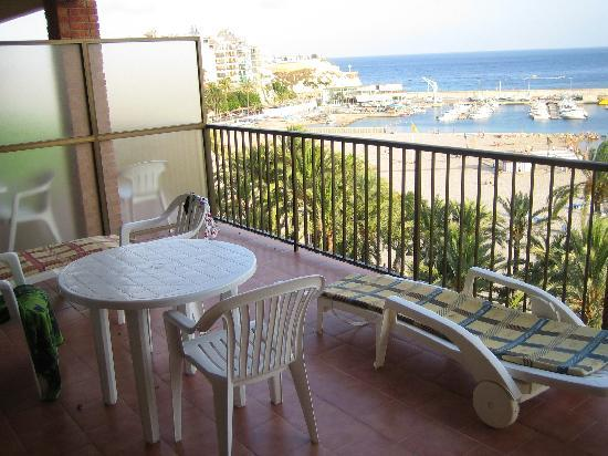 Hotel Montemar: Balcony & View