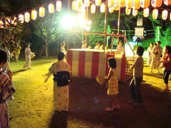 Hanatsubaki: 盆踊りにも参加しました★