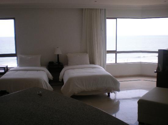 Hotel Regatta Cartagena: Comodas habitaciones muy buenas vistas