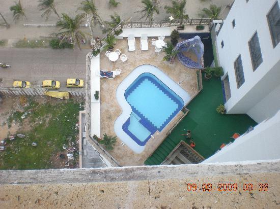 Hotel Regatta Cartagena: piscinas piso 10 y 18