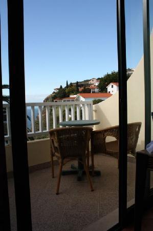 Hotel Alpino Atlantico : Balkon