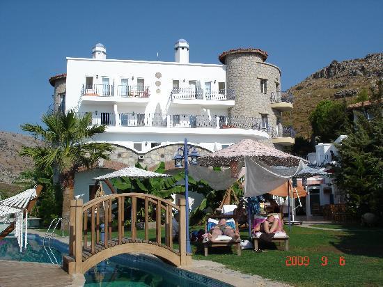 Villa Asina: hotel front and pool