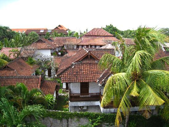 Grand Sinar Indah Hotel: View from the balcony