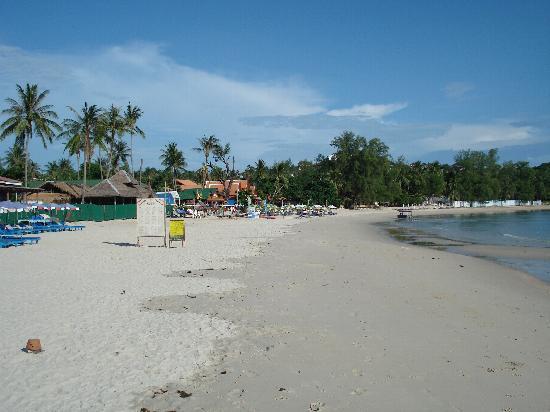 Chatkaeo Resort : the beach