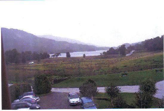 Loch Achray Hotel: The View from room 240
