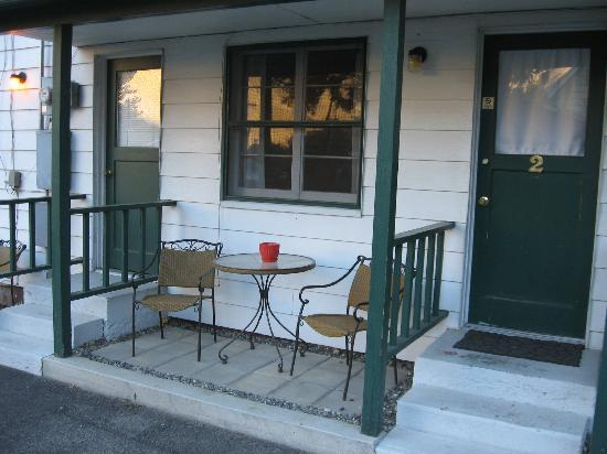 Riggins Motel: lovely patio!