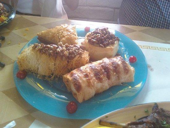 King Gyros Greek Restaurant: Baklava