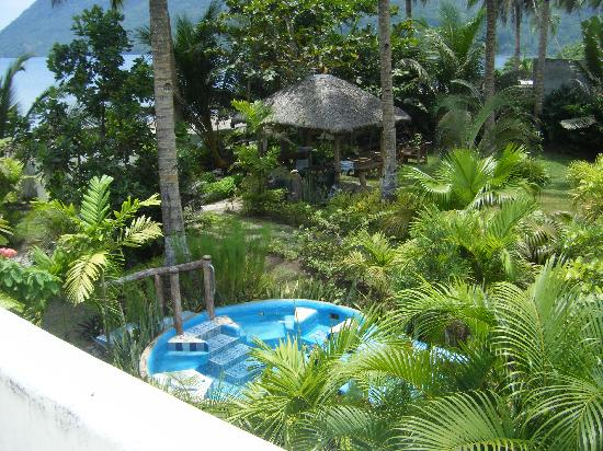 Dona Marta Boutique Hotel: From Roof Top View of Pool and Gazeebo