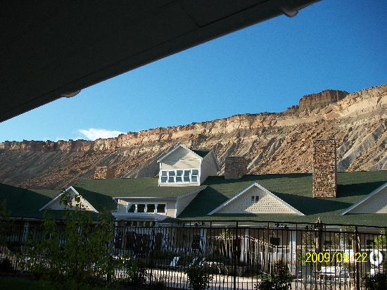 Palisade, Колорадо: View from our room