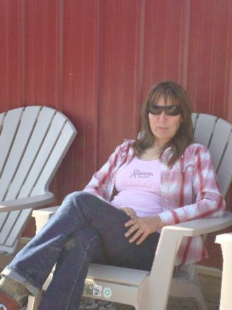 The Bucking S Ranch: Silke the ranch owner (a wonderful person)