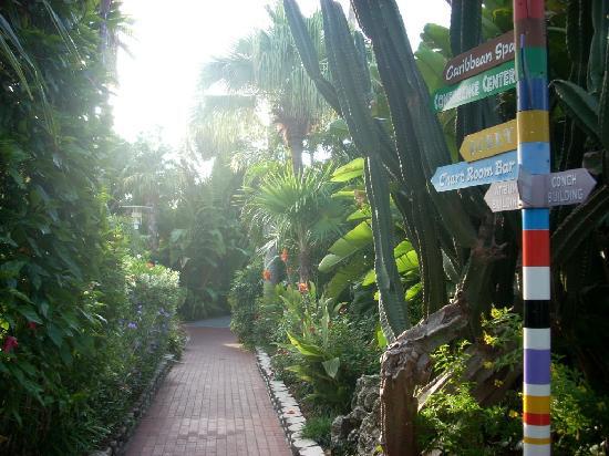 Pier House Resort & Spa: Pier House garden pathway