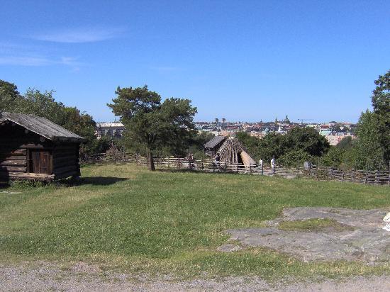 Hotel Bema: Veduta della città dal museo all'aperto di Skansen