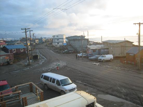 Barrow, AK: View from our Hotel Room