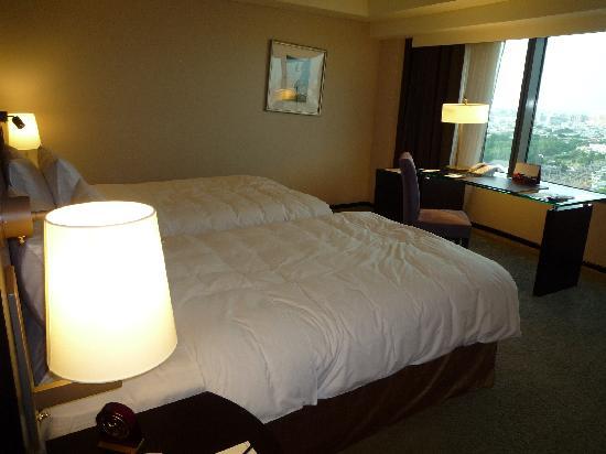 Shangri-La's Far Eastern Plaza Hotel Tainan: ツインの部屋です。