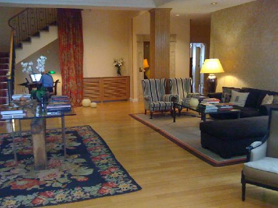 Hotel Rector: the hotel lobby