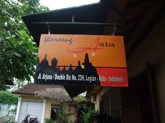 Warung Asia Thai Food: お店の看板