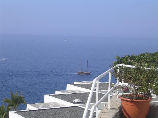 Panorama de notre balcon photo de puerto de mogan mogan - Pension eva puerto de mogan ...