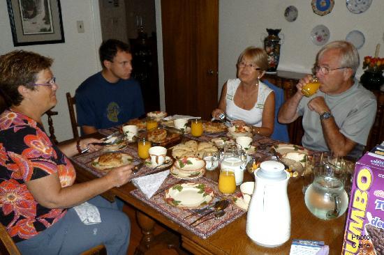 Heritage House Bed &Breakfast: Un petit déjeuner exceptionnel