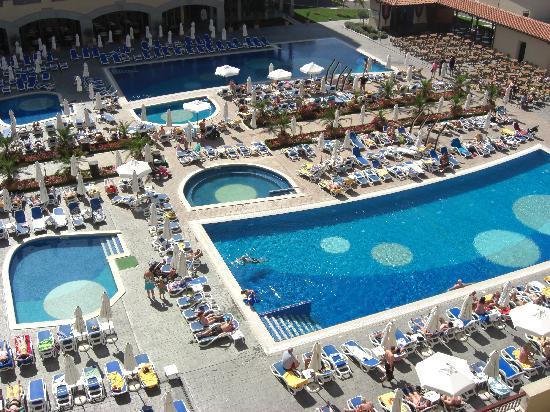 Iberostar Sunny Beach Resort: POOL FROM ROOM