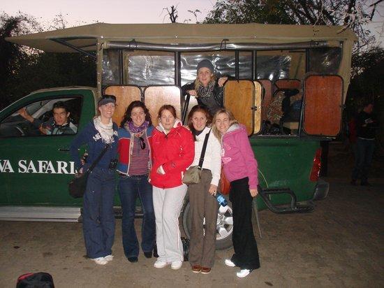 Cheetah Inn: Back after a satisfying Safari experience