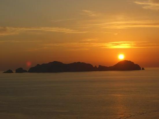 hotel ortensia: il magico tramonto!