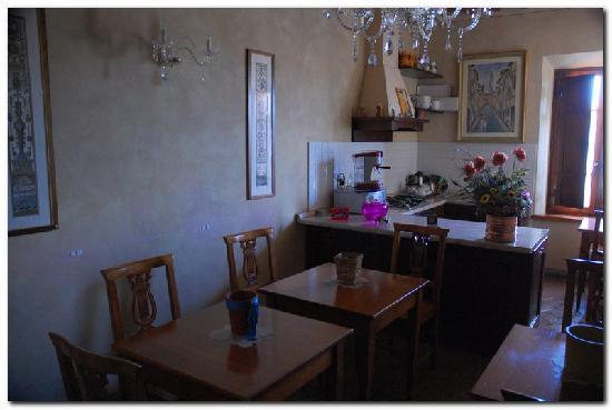 Palazzo al Torrione 2: Breakfast rom